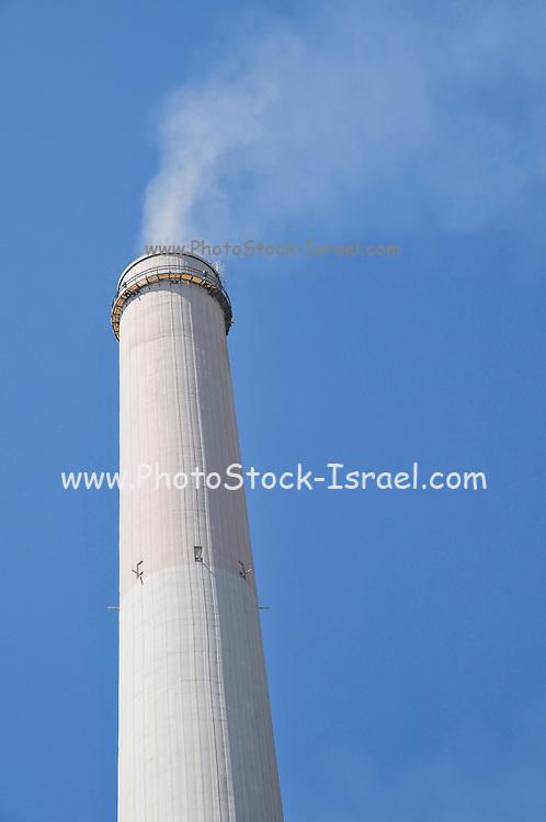 Israel, Hadera, The Orot Rabin coal operated power plant