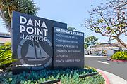 Dana Point Harbor Mariner's Village Signage