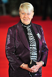 © Licensed to London News Pictures. 24/01/2012. London, England.laila Morse attends the world premiere of The Woman in Black , Hammer Films new horror movie at The Royal Festival hall  London  Photo credit : ALAN ROXBOROUGH/LNP