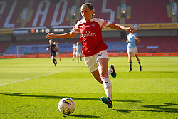 February 23, 2019 - Sheffield, England, United Kingdom - Katie McCabe of Arsenal on the ball during the FA Women's Continental League Cup Final football match between Arsenal Women and Manchester City Women at Bramall Lane on February 23, 2019 in Sheffield, England. (Credit Image: © Action Foto Sport/NurPhoto via ZUMA Press)