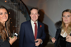 the MARQUESS OF BOWMONT & CESSFORD at the Tatler Little Black Book Party held at Home House Private Member's Club, Portman Square, London supported by CARAT on 6th November 2014.