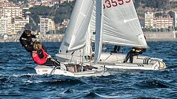 Grand Prix Vila de Blanes <br /> January 2-5, 2017<br /> Blanes, Spain<br /> Organized by the Club Vela Blanes and the FCV.<br /> Campionat Catalunya classe 420.<br /> Photos: © Cristina Balcells