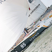 Jean Galfione sur Sérénis : Class 40 N°95