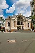 Opera House, Saigon, Vietnam, Asia