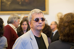May 5, 2017 - Rome, Italy - Mayor of Rome, Virginia Raggi attended the Funeral Home for the former director of the newspaper ''Il Manifesto'' dead on May 2. (Credit Image: © Matteo Nardone/Pacific Press via ZUMA Wire)