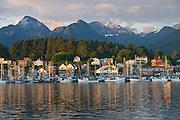 The town of Sitka, Alaska.