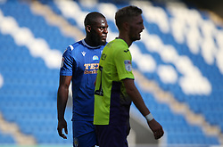 Frank Nouble of Colchester United looks on - Mandatory by-line: Arron Gent/JMP - 18/06/2020 - FOOTBALL - JobServe Community Stadium - Colchester, England - Colchester United v Exeter City - Sky Bet League Two Play-off 1st Leg