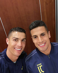 """Cristiano Ronaldo releases a photo on Instagram with the following caption: """"\ud83c\uddf5\ud83c\uddf9"""". Photo Credit: Instagram *** No USA Distribution *** For Editorial Use Only *** Not to be Published in Books or Photo Books ***  Please note: Fees charged by the agency are for the agency's services only, and do not, nor are they intended to, convey to the user any ownership of Copyright or License in the material. The agency does not claim any ownership including but not limited to Copyright or License in the attached material. By publishing this material you expressly agree to indemnify and to hold the agency and its directors, shareholders and employees harmless from any loss, claims, damages, demands, expenses (including legal fees), or any causes of action or allegation against the agency arising out of or connected in any way with publication of the material."""