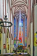 Kościół św. Mikołaja - wnętrze, Brzeg, Polska<br /> Church of St. Nicholas - inside, Brzeg, Poland