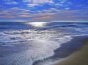 East Beach at Sunset