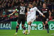 Tottenham Hostpur midfielder Deli Alli (20) trying to create something in the box during the Champions League match between Tottenham Hotspur and Bayer Leverkusen at Wembley Stadium, London, England on 2 November 2016. Photo by Matthew Redman.