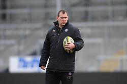 Bath Assistant Academy Manager George Tavner  - Mandatory byline: Alex Davidson/JMP - 07966386802 - 30/01/2016 - RUGBY - Sandy Park -Exeter,England - Exeter Chiefs u18's v Bath Rugby u18's - U18 League