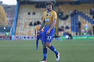 Ryan Sweeney of Mansfield Town (17) during the The FA Cup match between Mansfield Town and Charlton Athletic at the One Call Stadium, Mansfield, England on 11 November 2018.