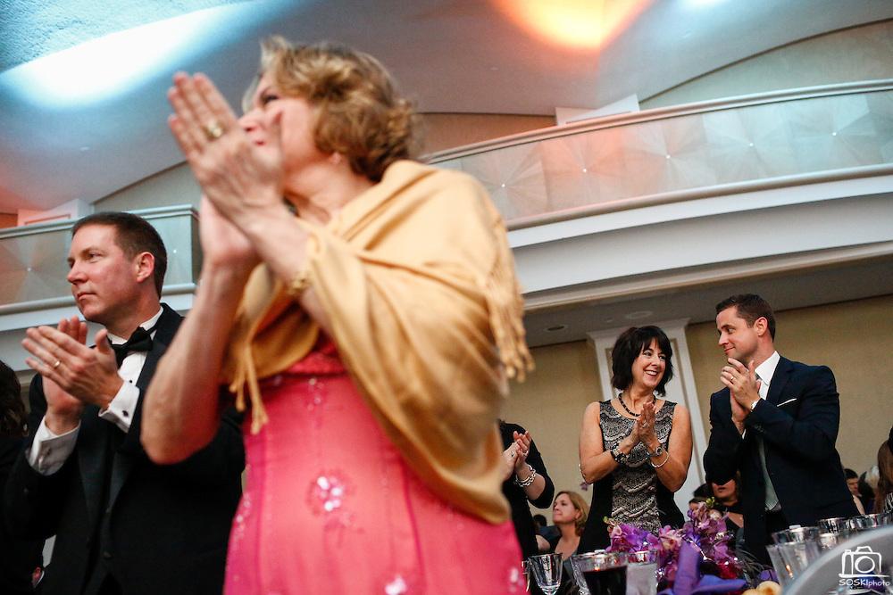 Genentec hosts its annual ACE Awards ceremony at the Fairmont Hotel in San Francisco, California, on January 13, 2015. (Stan Olszewski/SOSKIphoto for Lori Paladino Photography)