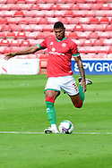Zak Jules of Walsall during the EFL Cup match between Walsall and Sheffield Wednesday at the Banks's Stadium, Walsall, England on 5 September 2020.