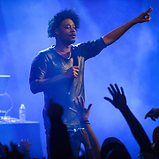 WASHINGTON, DC - November 24, 2013 - Rapper Danny Brown performs at the Howard Theatre in Washington, D.C. Brown released his third studio album, Old, in October. (Photo by Kyle Gustafson / For The Washington Post)