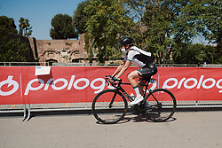 Romy Kasper (GER) at Strade Bianche - Elite Women 2020, a 136 km road race starting and finishing in Siena, Italy on August 1, 2020. Photo by Sean Robinson/velofocus.com
