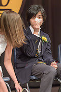 AT THE 2016 UPLAND COUNTRY DAY SCHOOL GRADUATION CEREMONIES IN KENNETT SQUARE, PA. PHOTOGRAPH BY JIM GRAHAM