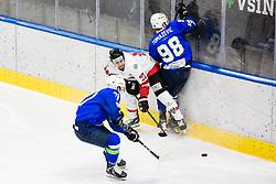 during match at Beat Covid 19 IIH Tournament 2021 between national teams of Slovenia and Austria in Hala Tivoli on 15th of May, 2021, Ljubljana, Slovenia . Photo By Grega Valancic / Sportida