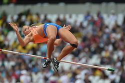 August 5, 2017 - London, England, United Kingdom - Nadine BROERSEN, Nederland, at Highjump, Heptathlon, at London Stadium in London on August 5, 2017 at the 2017 IAAF World Championships athletics. (Credit Image: © Ulrik Pedersen/NurPhoto via ZUMA Press)