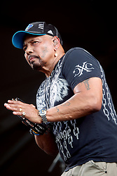 05 May 2012. New Orleans, Louisiana,  USA. .New Orleans Jazz and Heritage Festival. .Aaron Neville of the Neville Brothers..Photo; Charlie Varley.