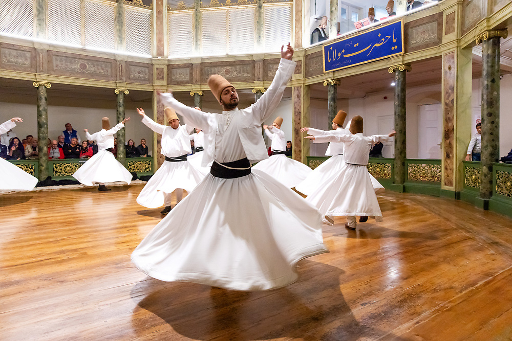Whirling Dervishes, Galata Mevlevi Hall, Istanbul