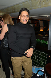 PIERS LINNEY at a party to celebrate the publication of Honestly Healthy Cleanse by Natasha Corrett held at Tredwell's Restaurant, 4a Upper St.Martin's Lane, London on 14th January 2015.