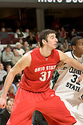 December 18, 2007: Ohio State University's Kosta Koufos #31, waits to grab a rebound in a game against Cleveland State. OSU defeated Cleveland State 80-63 in Cleveland, Ohio. Michael Ciu / CSM