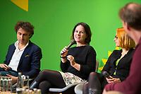 DEU, Deutschland, Germany, Berlin, 23.11.2018: Jesse Klaver, Party Leader of Groen Links (Netherlands), Annalena Baerbock, Co-chair of Bündnis 90 / Die Grünen (Germany). Council of the European Green Party (EGP council) at Deutsche Telekom Representative Office.