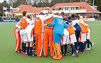 AERDENHOUT - 08-04-2012 - Ranje  , zondag na de wedstrijd tussen Nederland Jongens A en Spanje Jongens A (4-1) , tijdens het Volvo 4-Nations Tournament op de velden van Rood-Wit in Aerdenhout. FOTO KOEN SUYK