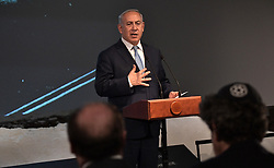 January 29, 2018 - Moscow, Russia - 29.01.2018. - Russia, Moscow. - Prime Minister of Israel Benjamin Netanyahu during events in the Jewish Museum and Tolerance Center timed to the International Holocaust Remembrance Day and the anniversary of the complete lifting of the Nazi siege of Leningrad. (Credit Image: © Russian Look via ZUMA Wire)