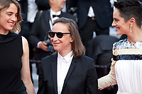 Adele Haenel, Celine Sciamma, Noemie Merlant at the closing ceremony and The Specials film gala screening at the 72nd Cannes Film Festival Saturday 25th May 2019, Cannes, France. Photo credit: Doreen Kennedy
