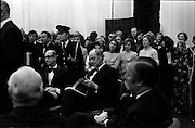 24/10/1971<br /> 10/24/1971<br /> 24 October 1971<br /> Opening of ROSC 1971 art exhibition at the RDS, Ballsbridge, Dublin. Picture shows An Taoiseach Mr Jack Lynch at the opening.