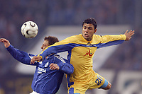 Fotball<br /> Foto: imago/Digitalsport<br /> NORWAY ONLY<br /> <br /> 06.04.2006  <br /> <br /> Emil Angelov (Levski Sofia, re.) gegen Marcelo Jose Bordon (Schalke)<br /> <br /> FC Schalke 04 - PFK Levski Sofia 1:1<br /> UEFA Cup 2005/2006
