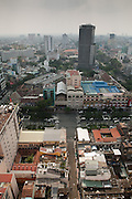 View south-west to Saigon centre Tower from the top floor of the Sheraton Hotel, Central Ho Chi Minh City ,Vietnam
