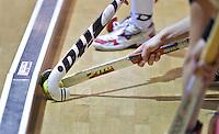ALMERE - ILLUSTRATIE. Training Nederlands Zaalhockeyteam dames  voor WK in Polen. ANP COPYRIGHT KOEN SUYK