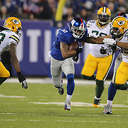 Jerrel Jernigan, New York Giants, in action during the New York Giants Vs Green Bay Packers, NFL American Football match at MetLife Stadium, East Rutherford, New Jersey, USA. 17th November 2013. Photo Tim Clayton