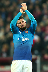 Olivier Giroud of Arsenal - Mandatory by-line: Robbie Stephenson/JMP - 23/11/2017 - FOOTBALL - RheinEnergieSTADION - Cologne,  - Cologne v Arsenal - UEFA Europa League Group H