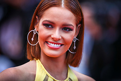 """Maeva Coucke attends the screening of """"Les Plus Belles Annees D'Une Vie"""" during the 72nd annual Cannes Film Festival on May 18, 2019 in Cannes, France. Photo by Shootpix/ABACAPRESS.COM"""