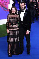 Rachel Shenton and Chris Overton, Mary Poppins Returns European Premiere, Royal Albert Hall, Kensington Gore, London, UK, 12 December 2018, Photo by Richard Goldschmidt