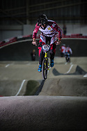 #127 (TREIMANIS Edzus) LAT at the 2016 UCI BMX Supercross World Cup in Manchester, United Kingdom<br /> <br /> A high res version of this image can be purchased for editorial, advertising and social media use on CraigDutton.com<br /> <br /> http://www.craigdutton.com/library/index.php?module=media&pId=100&category=gallery/cycling/bmx/SXWC_Manchester_2016