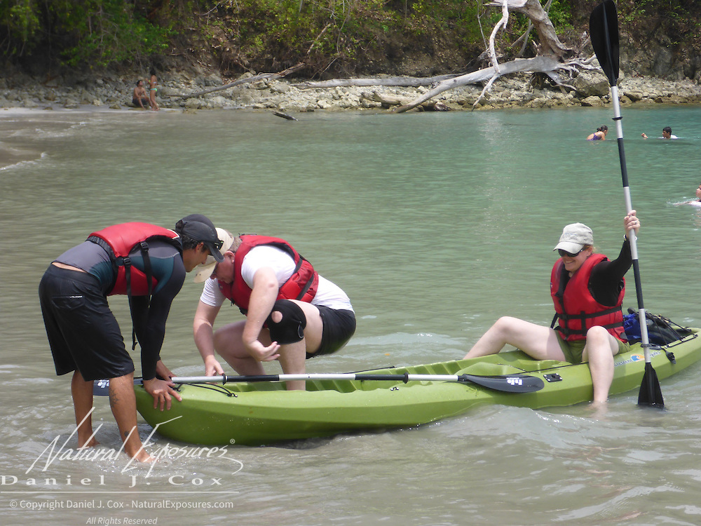 Kayaking, Manuel Antonio, Costa Rica.