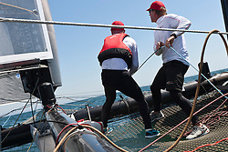 August 9th 2011, AC45 World Series. Training day for Artemis Racing.