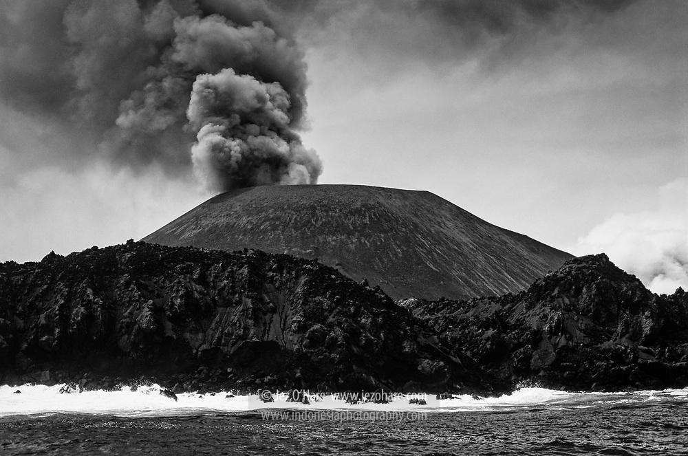 Anak Krakatau, Selat Sunda, Lampung, Sumatra, Indonesia.