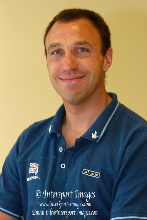 2005 British International Rowing, FISA World Cup Team announcement, Dorning Lake, ENGLAND: Phil Simmons..Photo  Peter Spurrier. .email images@intersport-images...