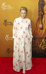 December 4, 2018 - New York, New York, United States - Mamie Gummer  attend the New York premiere of 'Mary Queen Of Scots' at Paris Theater  (Credit Image: © Lev Radin/Pacific Press via ZUMA Wire)