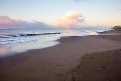 Sunrise At Waimea Plantation Cottages Beach