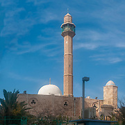 Israel, Tel Aviv-Jaffa, Hassan Bek Mosque Built 1916
