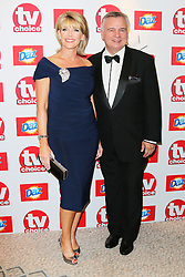 © Licensed to London News Pictures. 09/09/2013, UK.  Ruth Langsford; Eamonn Holmes, TV Choice Awards, The Dorchester Hotel, London UK, 09 September 2013 Photo credit : Richard Goldschmidt/Piqtured/LNP