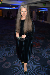 KOO STARK at the Chain of Hope Ball held in aid of the charity Chain of Hope, founded by Professor Sir Magdi Yacoub which organises volunteer teams worldwide to operate on children suffering from life-threatening heart diseases, held at the Grosvenor House Hotel, Park Lane, London on 20th November 2015.